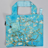 van Gogh Almond Blossoms Folding Tote, with pouch