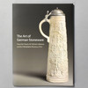 """Cover of the book """"The Art Of German Stoneware"""""""