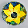 Sunflower Trinket Bowl, from above