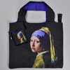 Vermeer: Girl with a Pearl Earring Folding Tote, with pouch