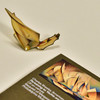 Charles Sheeler Pertaining to Yachts and Yachting Enamel Pin, with packaging card