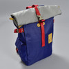 Roll-top Backpack - Navy