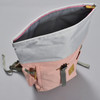 Roll-top Backpack - Pink, from above