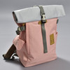 Roll-top Backpack - Pink