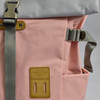Roll-top Backpack - Pink, close up