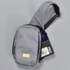 Apex Sling Pack - Grey, with contents