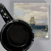 Thomas Birch: Philadelphia Harbor Tile by The Painted Lily, with mug