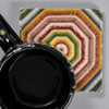 Rebecca Savery: Sunburst Quilt Tile by The Painted Lily, with mug