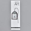 Tall Case Clock Face Bookmark, with packaging