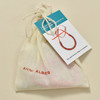 Anni Albers Jewelry: Make Your Own Necklace Kit #4, packaging