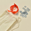 Anni Albers Jewelry: Make Your Own Necklace Kit #4, contents
