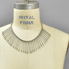 Anni Albers Jewelry: Make Your Own Necklace Kit #1, put together, on mannequin