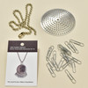 Anni Albers Jewelry: Make Your Own Necklace Kit #2, contents