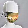 Hicks: Noah's Ark Face Mask by Ana Thorne, on mannequin