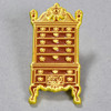The Fox and the Grapes High Chest of Drawers Enamel Pin