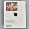 Rubens Peale: From Nature in the Garden Enamel Pin, back of packaging