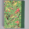 """Marbled Sketchbook 5.75"""" x 4.25"""" - Green Fountain, back"""