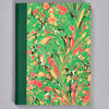 """Marbled Sketchbook 5.75"""" x 4.25"""" - Green Fountain, front"""