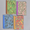 """Marbled Sketchbook 7"""" x 5"""" - shown in 4 colors"""