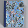 Marbled Playing Card Box - Blue Fountain, front