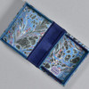 Marbled Playing Card Box - Blue Fountain, opened