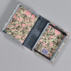 Marbled Playing Card Box - Grey/Pink Stone, opened