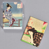 Yoshitoshi: Female Beauty Magnet Set, case with magnets inside, one magnet outside