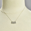 Indra Arc Pendant by Kate Dannenberg, on mannequin
