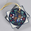 Royal Coat of Arms of England, c 1525 - 1550 Glass Ornament, in box