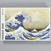 Hokusai: The Wave Puzzle, front of box
