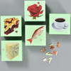 Little Puzzle Thing in various styles - Pie, Blue Cheese, Rose, Fish, Coffee (sold separately)