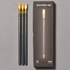 Blackwing 602 Firm Graphite Pencils front of package and pencils