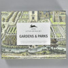 Gardens and Parks Letter Writing Set, front of box