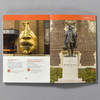 """Interior of the book """"A Guide To Philadelphia's Public Art"""" by Margot Berg"""