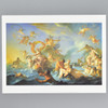 Coypel: The Abduction of Europa Archival Poster