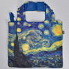 Starry Night Folding Tote, front, back
