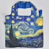 Starry Night Folding Tote, front