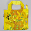 Van Gogh Vase With Sunflowers Folding Tote, with pouch
