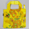 Van Gogh Vase With Sunflowers Folding Tote, front