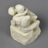 "Rodin's The Kiss 5.5"" Reproduction, top"