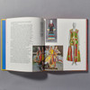 "Interior page of the book ""Off The Wall: American Art To Wear"""