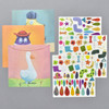 Create With Stickers: Animal Kit contents