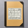 """Cover of the book """"Read This If You Want To Be Great At Drawing"""" by Selwyn Leamy"""