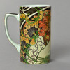 Mucha Reverie Mug Left Side