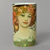 Mucha Reverie Mug Front with Woman's Face