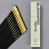 Blackwing Soft Graphite Pencils • Matte Black, pencils and box