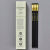 Blackwing Soft Graphite Pencils •Matte Black, pencils and back of box