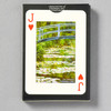 Back of Monet Water Lilies Playing Cards