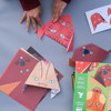 Introduction to Origami: Animals Kit in use