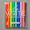 Color Write Fountain Pens front of package